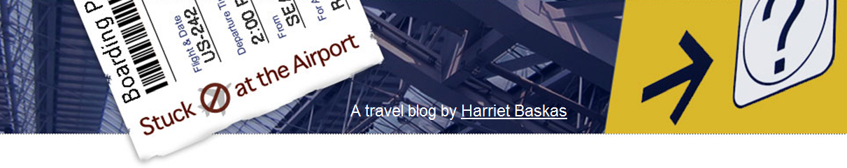 Stuck At The Airport, An Airport Blog