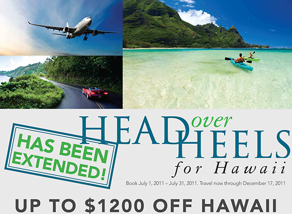Head Over Heels for Hawaii