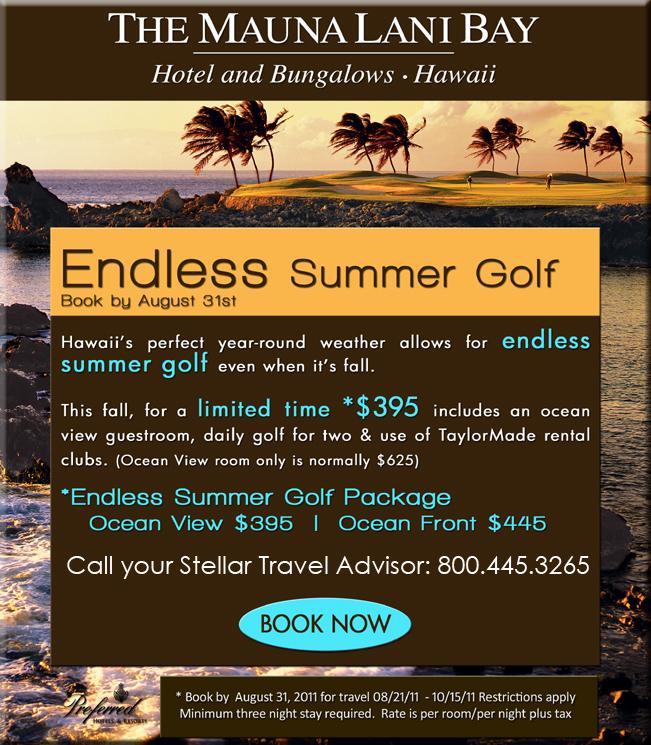 Mauna Lani Golf Get-Away