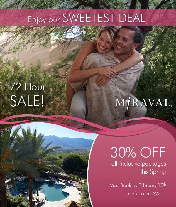 Miraval Valentines Day Special