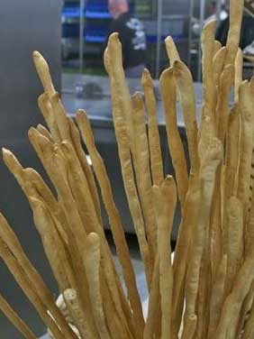 Seabourn's Signature Breadsticks