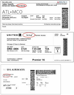 Pre✓ Status On Your Boarding Pass