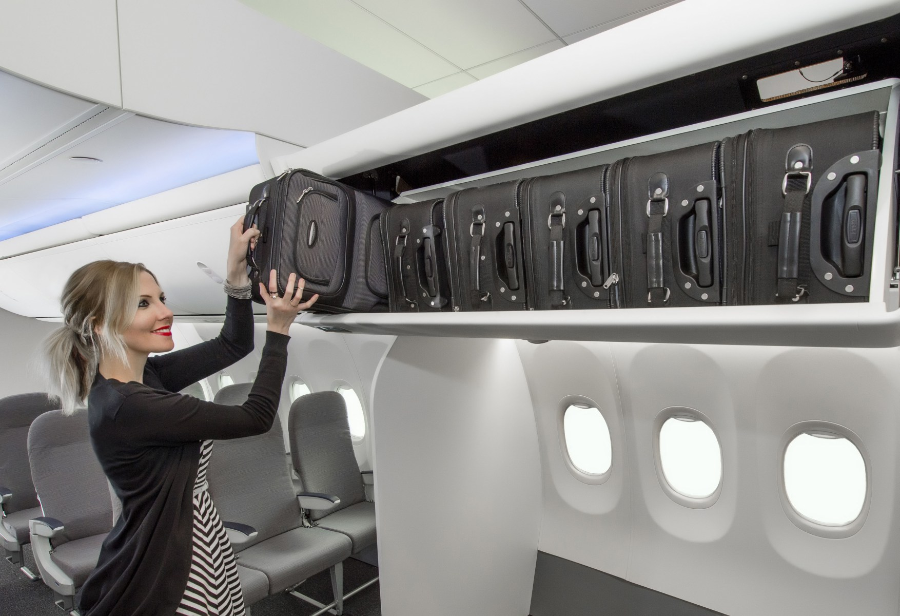 More Overhead Space to Arrive on Alaska Airlines flights