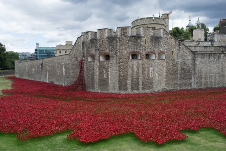 Tower of London Dedication to WWI