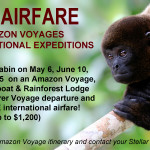 Free Air With International Expeditions Amazon Voyages
