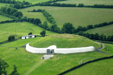 Older than Stonehenge and the Pyramids: see ancient Newgrange in Ireland