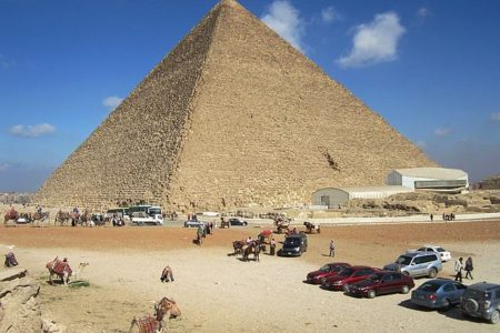 Scientists May Have Found Hidden Chambers inside Giza's Great Pyramid