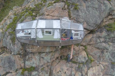 You Can Sleep in the Sky in This Transparent Glass Pod Above the Sacred Valley