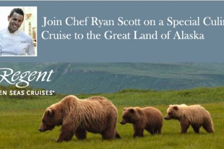 Join Chef Ryan Scott on Alaskan Culinary Cruise with Regent