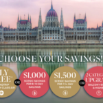 Scenic Cruises Choose Your Savings