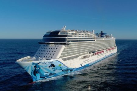 Norwegian Bliss Sails to Seattle For Christening