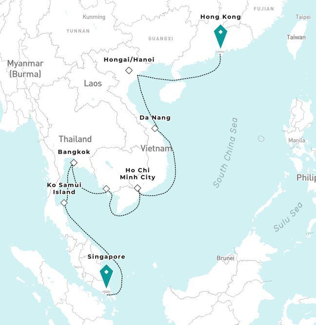 President's Cruise: Asia 2020