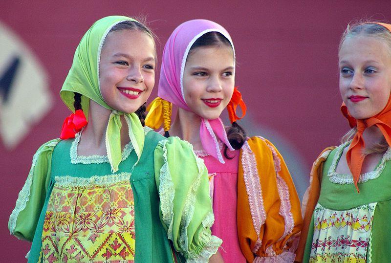 Traditional Russian Folk Dancing with Viking Cruises