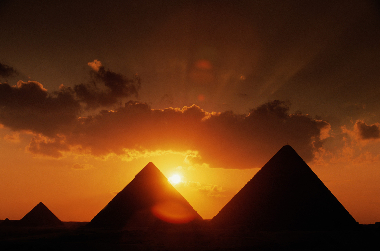 Sun, Sand, and Pyramids